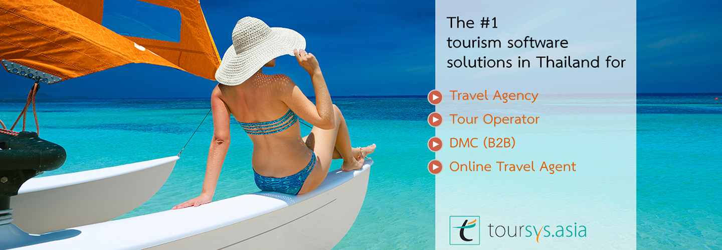 Tourism software solutions for travel agency